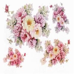 Cartamodello orso e coniglio